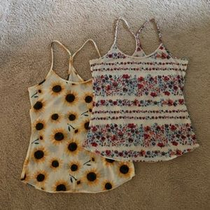 Bundle of 2 Urban Outfitters Tank Tops